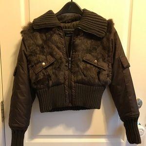 Jackets & Blazers - Jennyfer J Fur bubble Jacket